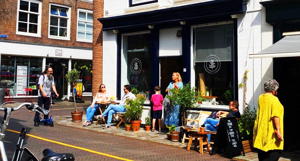Jardin. Hippe foodspot / lunchbar in Goes